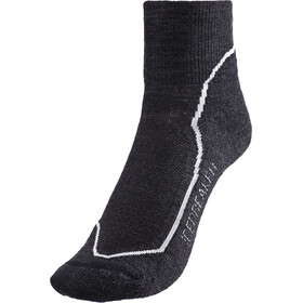 Icebreaker Hike+ Light Mini Socks Dam jet heather/snow/black